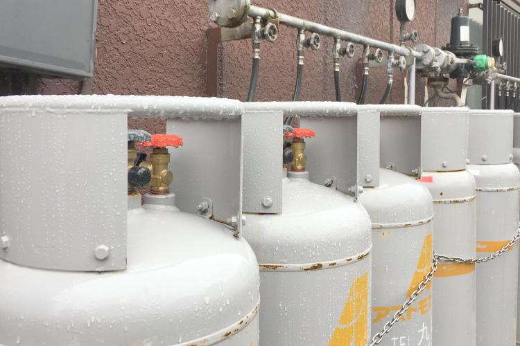LPガス事業部ではガスの供給サービスを提供しております