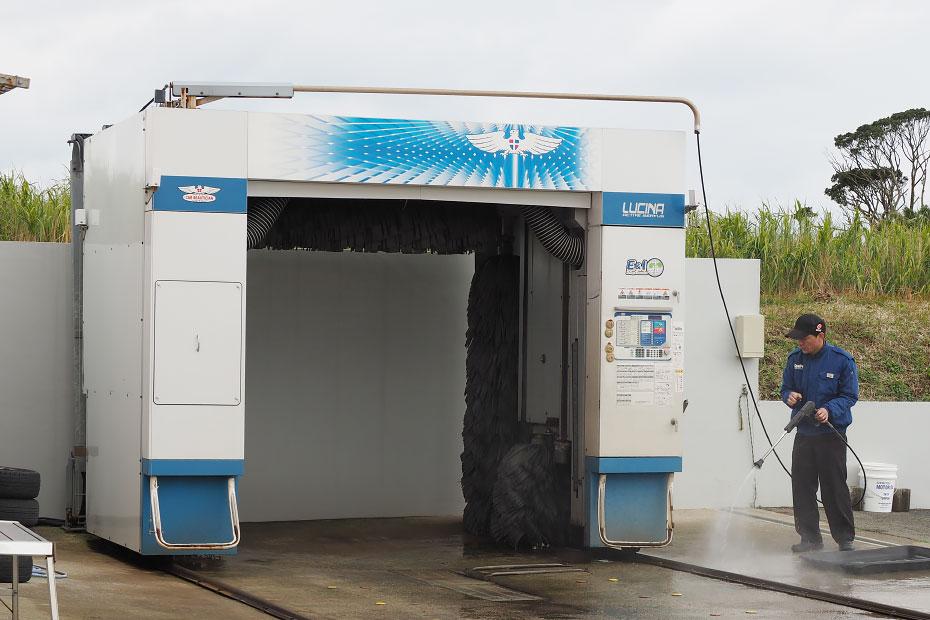 洗車もお任せください!