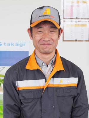 LPガス事業部 西之表本店担当者 實(さね)部長