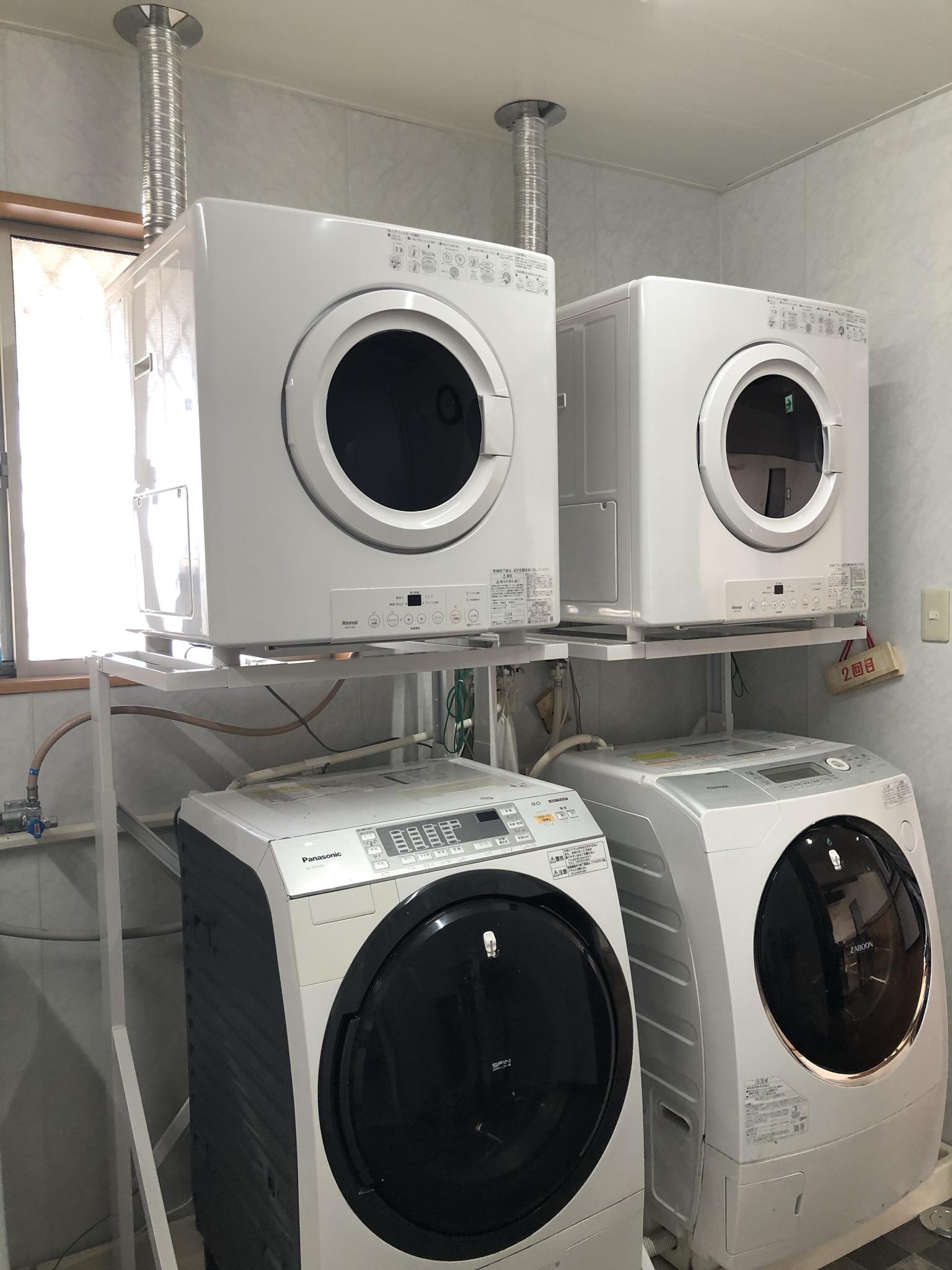 """リンナイ ガス衣類乾燥機「乾太くん」で洗濯業務も""""カラッと解決""""ラクラク時短♬ ガス乾燥でふわふわの仕上がり!"""